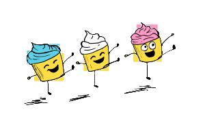 Dancing Cupcakes