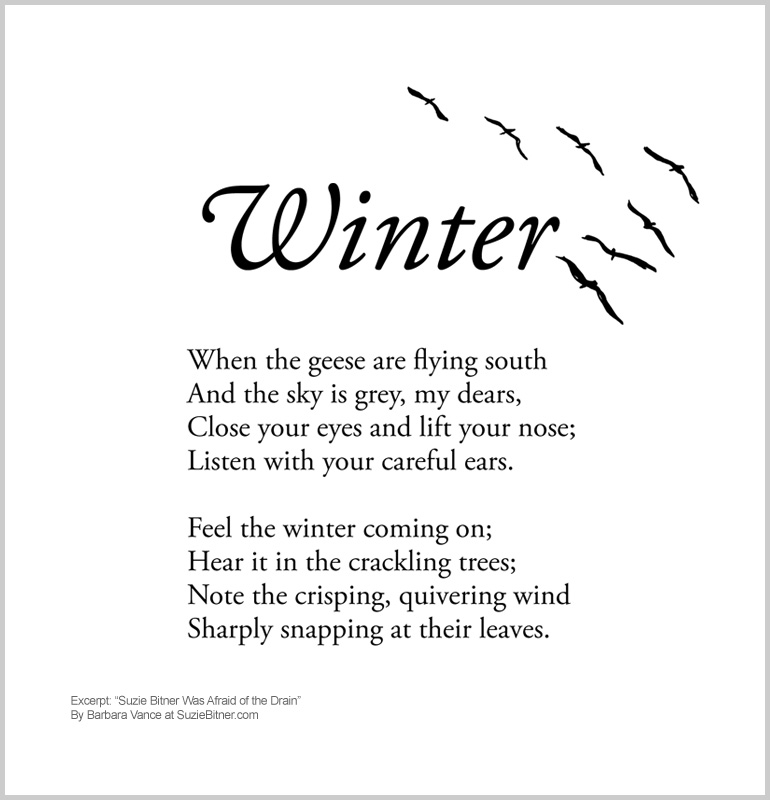Poems About Winter And Hot Chocolate